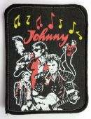 Johnny Hallyday - 'Collage' Printed Patch